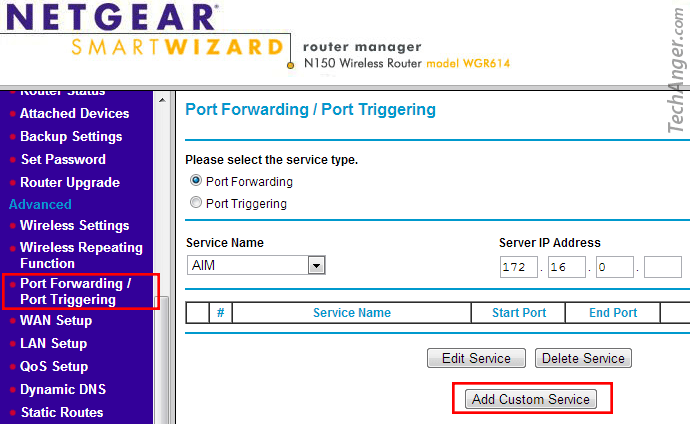 port-forwarding