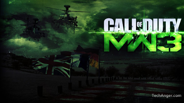 Call Of Duty Modern Warfare 3 Windows 7 Theme