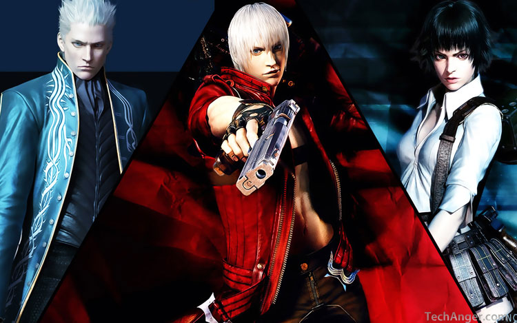 Devil May Cry Windows 7 theme