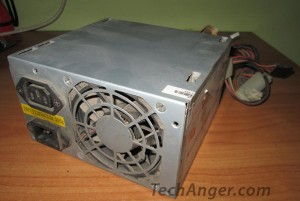 Old Power Supply for Desktop Cooling