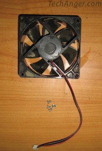 Desktop Cooling fan in progress